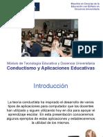 Conductismo y Aplicaciones Informáticas
