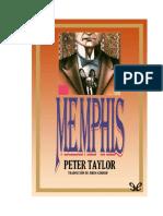Taylor Peter - Memphis leído por Flannery autor del sur pulitzer cuentista dramaturgo