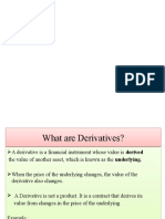 Derivatives II