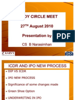 56 Icdr and Ipo New Process by Mr Narsimhan