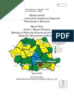 Studiul privind planul general pentru gestiunea deseurilor periculoase in Romania- 01