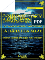 Le Commentaire des Conditions de Lâ ilâha illa Allah 2eme edition