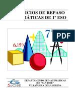 Ejercicios de repaso de MAT 1º ESO - Cuadernillo.pdf