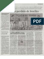 El Tio Abuelo Perdido de Joselito El Gallo