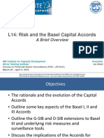 L14 - Risk Measures and the Basel Capital Accords