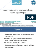 S12 - Dimension transversale du risque systemique