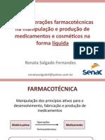 Farmacotecnica - introdução