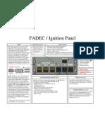 Fadec Panel