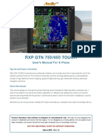 Reality XP GTN User's Manual (XPlane)