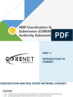 SME221 (4) MEP Coordination & Submission (CORNET & Authority Submissions)