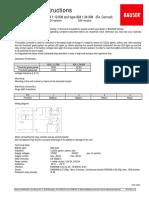 Bauser-Control Tipo 824 12-24v [Reloj Bateria y o Cuenta-horas] (Ingles)