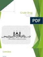 Crude Drug.pptx