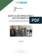 MANUAL OPERACION osmosis NUF