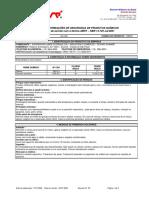 MSDS DILUYENTE 951-EPOXI