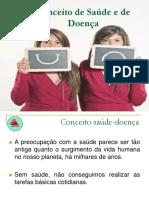 01 - CONCEITOS DE SAÚDE E DE DOENÇA
