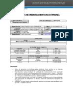 Formulário de Solicitação - Anexo 1