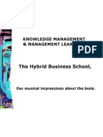 Knowledge management - Musical impressions