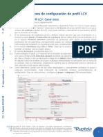 ES Instrucciones de configuración de perfil LCV