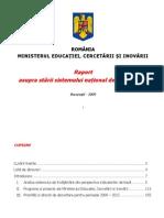 Starea Invatamantului in Romania 2009