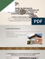 Expo Piura - Defensa propiedad estatal y planificación urbana