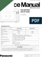 Panasonic Microwave Manual NNSE792-ST762
