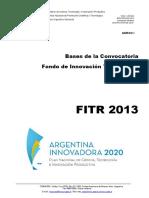 Bases FITR 2013