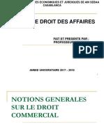 Cours de droit des affaires  DROIT COMMERCIAL S5.pdf