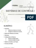 Aula 01 - Introdução aos Sistemas de Controle.pptx