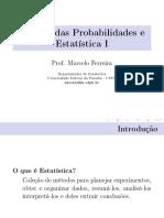 Aula1, Cálculo das Probabilidades