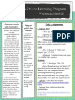 wednesday march 25