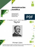 Administración Científica (Taylor)