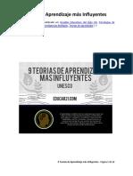 9 Teorías de Aprendizaje más Influyentes.pdf