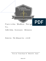 JUICIO REIVINDICATORIO