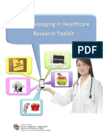 Text Messaging in Healthcare Research Toolkit 2