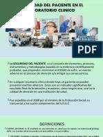 SEGURIDAD DEL PACIENTE EN EL LABORATORIO CLINICO (2).ppt
