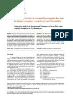análise contrastiva complexo portugues espanhol