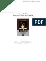 Jung Carl Gustav - Psicologia Y Alquimia