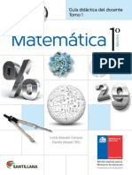 Matemática 1º medio - Guía didáctica del docente tomo 1.pdf