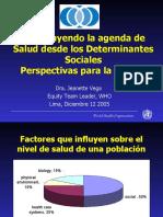 1.1 CONSTRUYENDO AGENDA DESDE DETERMINANTES SOCIALES