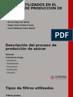 FILTROS UTILIZADOS EN EL PROCESO DE PRODUCCION DE