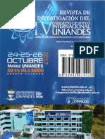 V UNIANDES 2018