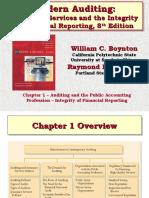 ch01 - Modern Auditing Boynton