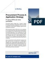 Procurement Process & Application Strategy
