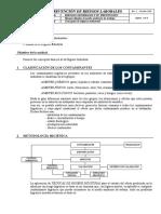 CLASIFICACION DE CONTAMINANTES