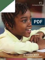 Achievement First Annual Report 2010