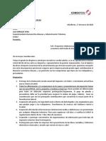 Carta de Comex Perú