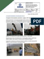 INFORME - PROYECTO S.E.T CAJAMARQUILLA-2013