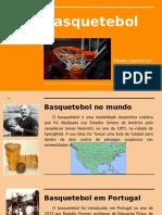 Basquetebol - apresentação e regras básicas