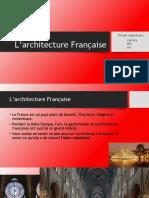 L'architecture française - Presentation