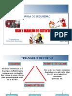 JUNIO USO Y MANEJO DE EXTINGUIDORES ENERLETRIC